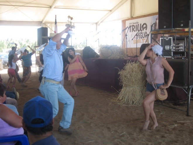 Dance like nobody's watching! Yumbel, Chile, Jan 2014