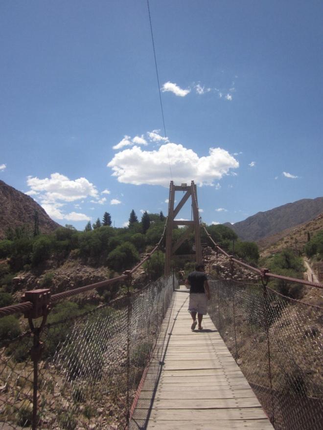 Bridge over (troubled) water Mendoza, Argentina, Jan 2014