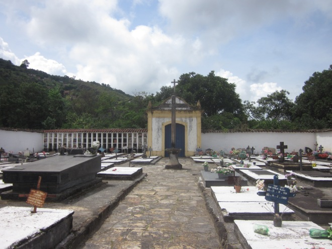 Quaint little cemetery Ouro Preto, Brazil, Apr 2014