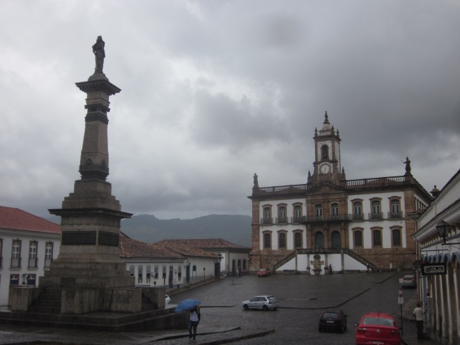 The main plaza Ouro Preto, Brazil, Apr 2014