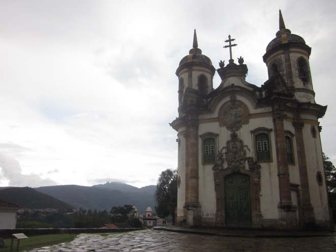 The rain clouds made for some nice backgrounds though Ouro Preto, Brazil, Apr 2014
