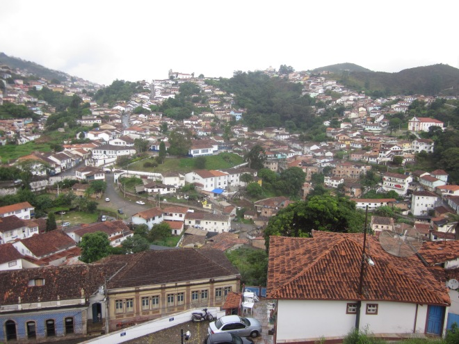 Getting drenched was (not) worth this picture Ouro Preto, Brazil, Apr 2014