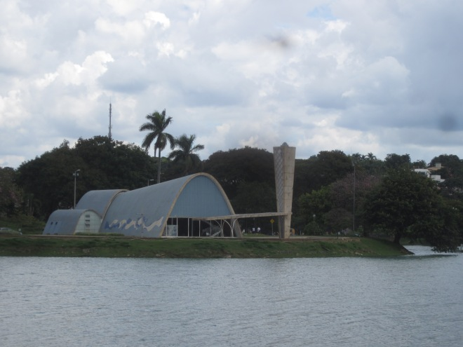 Church of Saint Francis of Assis, courtesy of Oscar Neimeyer Belo Horizonte, Brazil, Apr 2014