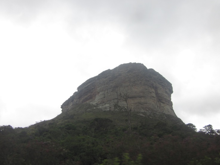Morro da Pai Inacio, so named for the slave to ran away from his masters and took refuge on this particular mountain Chapada Diamantina, Brazil, May 2014